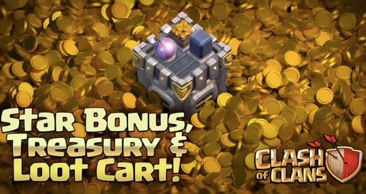 Clash of Clans update with Treasury Sneak Peek 1