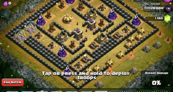 Best Clash of Clans Level 7 Giants attack strategy