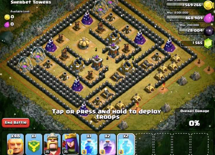 clash-of-clans-level-7-giants-attack-strategy