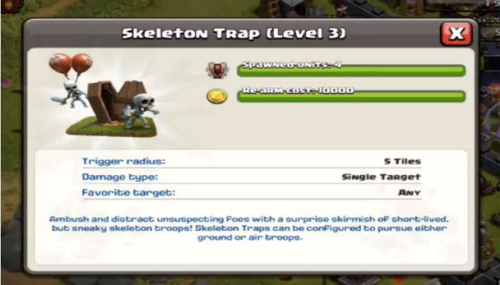 clash-of-clans-maxed-out-skeleton-trap