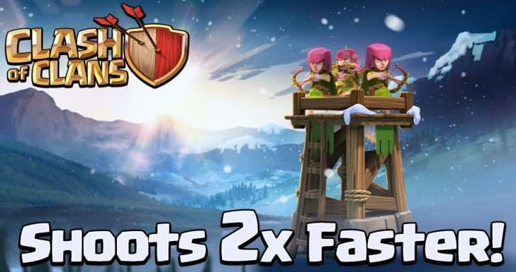 Clash of Clans New Archer Tower review
