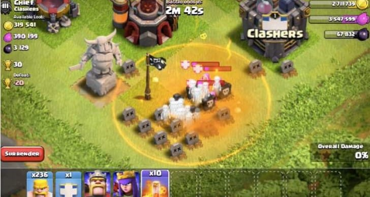 Clash of Clans July 2015 update release time