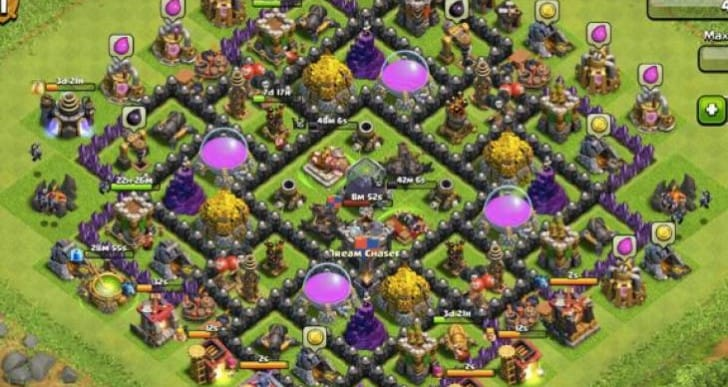 Clash of Clans down for maintenance, not update