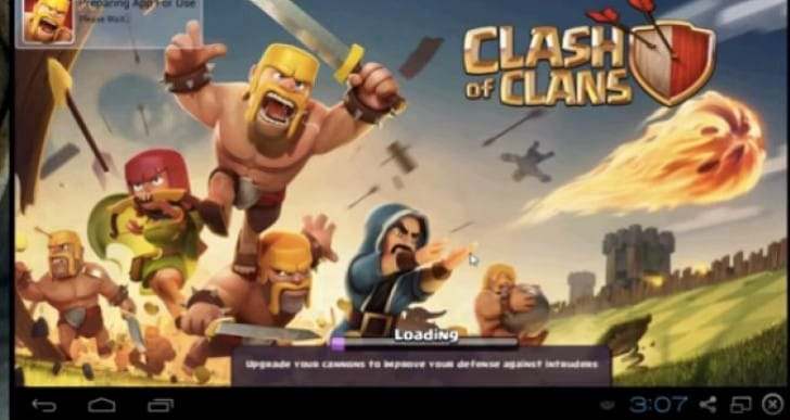 Clash of Clans PC with Bluestacks app