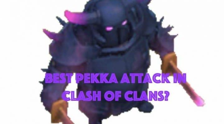 Fun Clash of Clans Pekka attack strategy