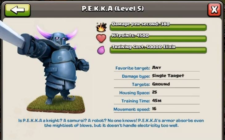 clash-of-clans-pekka-level-5