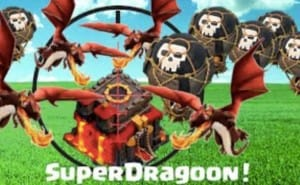 Clash of Clans SuperDragoon strategy used by Supercell