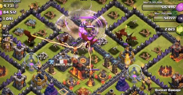 clash-of-clans-super-dragoon-strategy