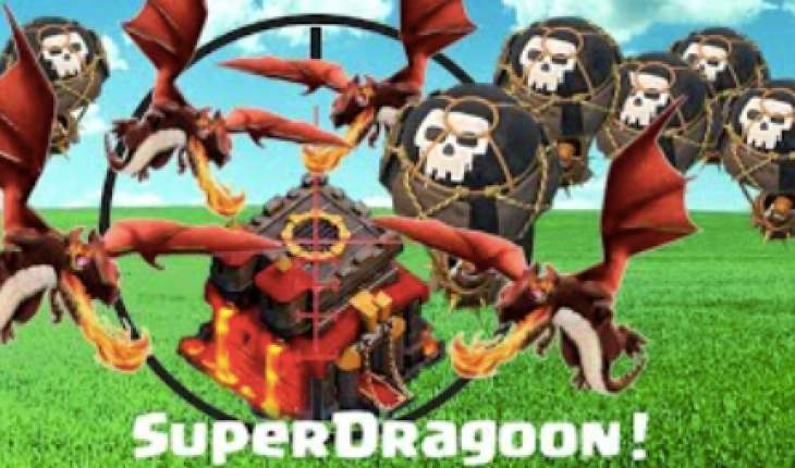 Clash of Clans SuperDragoon strategy used by Supercell  Product