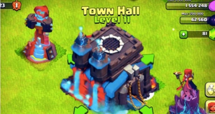 Clash of Clans December 2015 TH11 update release date