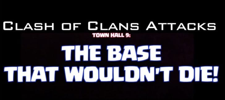 Clash of Clans defense base on Town Hall 9 unbeatable