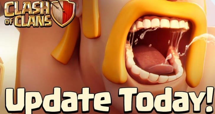 Clash of Clans update live today