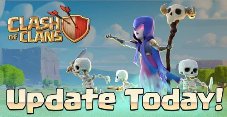 Clash of Clans July 1 update notes after maintenance