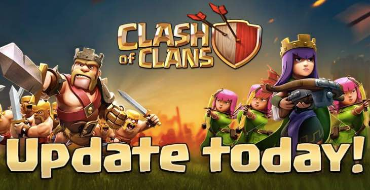 Clash of Clans update release time after maintenance