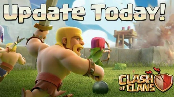 Clash of Clans update notes today with new features