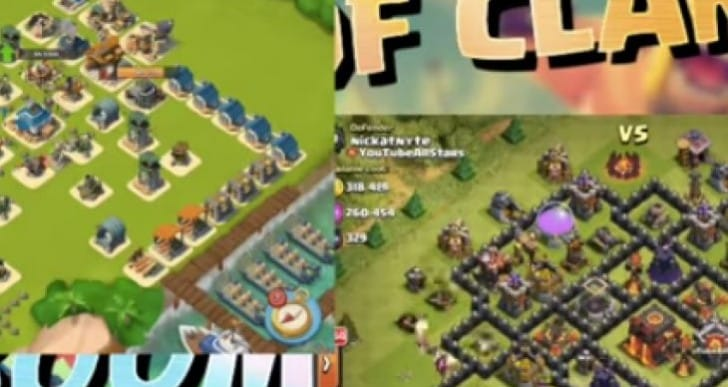 Clash of Clans vs. Boom Beach