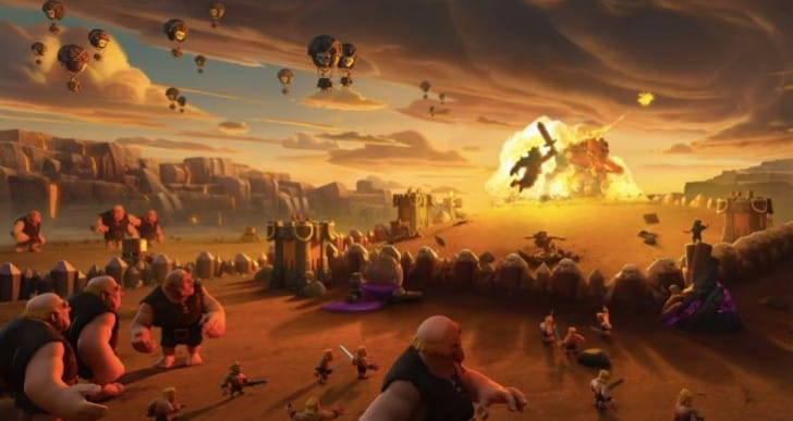 Clash of Clans wallpapers for iPhone, iPad from Supercell