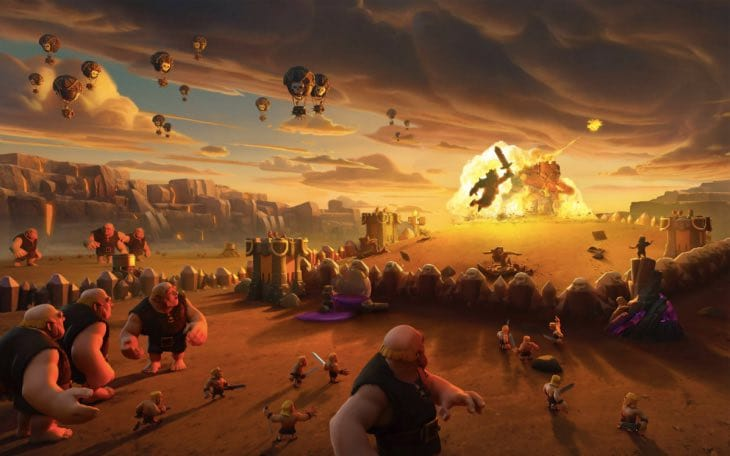 Barbarian Clash Of Clans Hd Hd Games 4k Wallpapers: Clash Of Clans Wallpapers For IPhone, IPad From Supercell