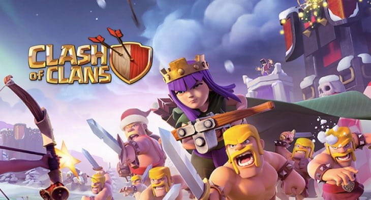clash-of-clans-winter-theme
