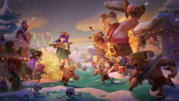 clash of clans december 18 winter update patch notes in. Black Bedroom Furniture Sets. Home Design Ideas