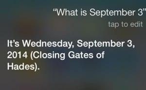 Siri on opening and closing Gates of Hades
