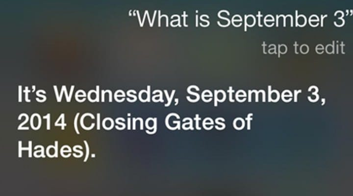 Siri on opening and closing Gates of Hades