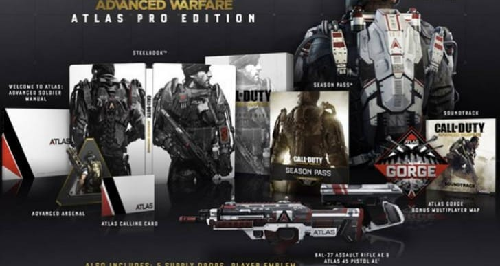 COD Advanced Warfare Atlas Pro Edition disclosed