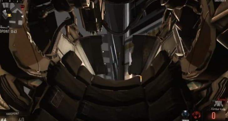 COD Advanced Warfare: Terminator killstreak gameplay