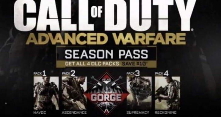 COD Advanced Warfare DLC Map Packs exclusive again