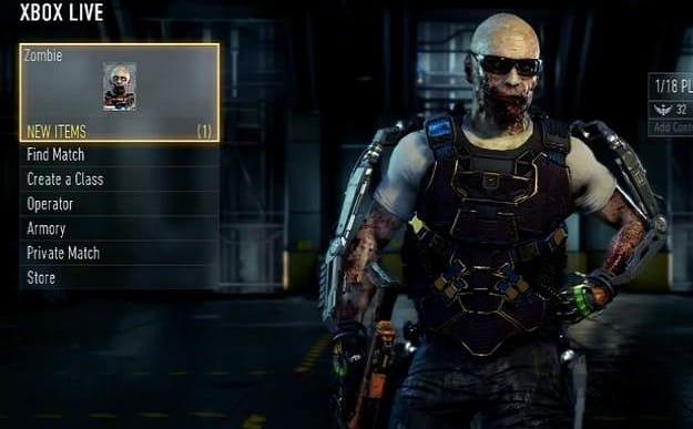 Unlock COD Advanced Warfare zombie skin easy