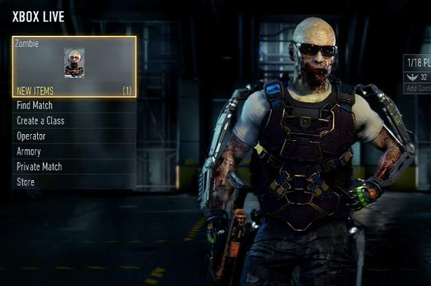 comment avoir les zombie advanced warfare