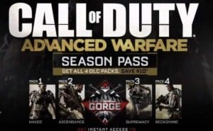 Call of Duty AW schedule for 2015 DLC