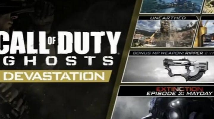 COD Ghosts Devastation DLC release date