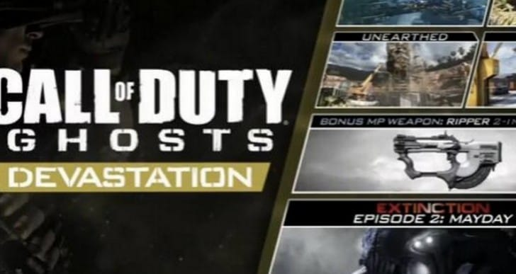 COD Ghosts Devastation DLC release date