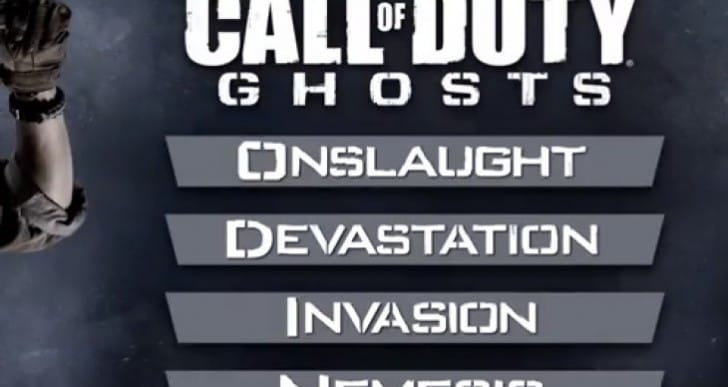 COD Ghosts DLC map pack preview with Season Pass
