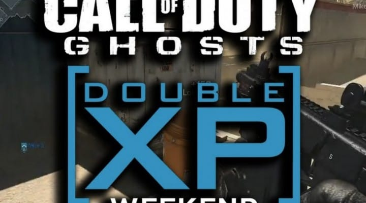 COD Ghosts Double XP Weekend for March 2014