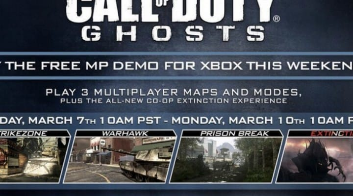 COD Ghosts free on Xbox Live Vs Titanfall hype