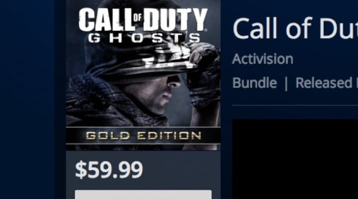 COD Ghosts Gold Edition value or not?