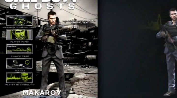 COD Ghosts Makarov Camo review