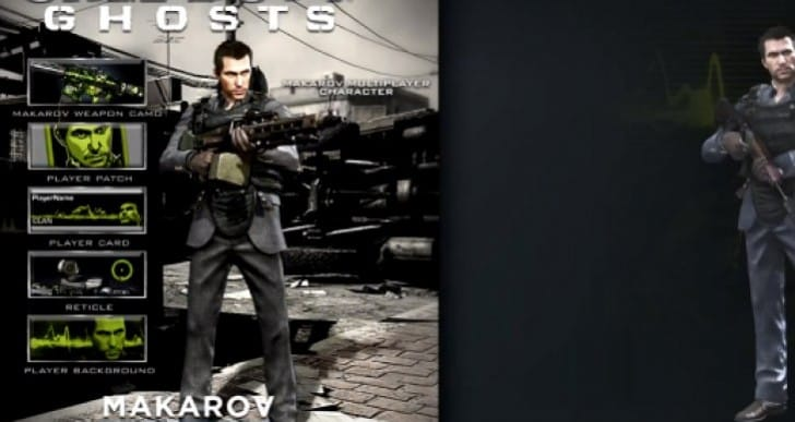 COD Ghosts Makarov Camo review