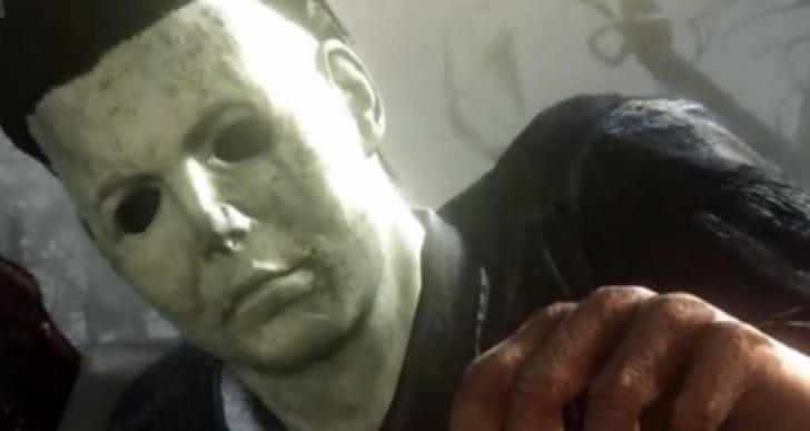 COD Ghosts DLC with Michael Myers gameplay