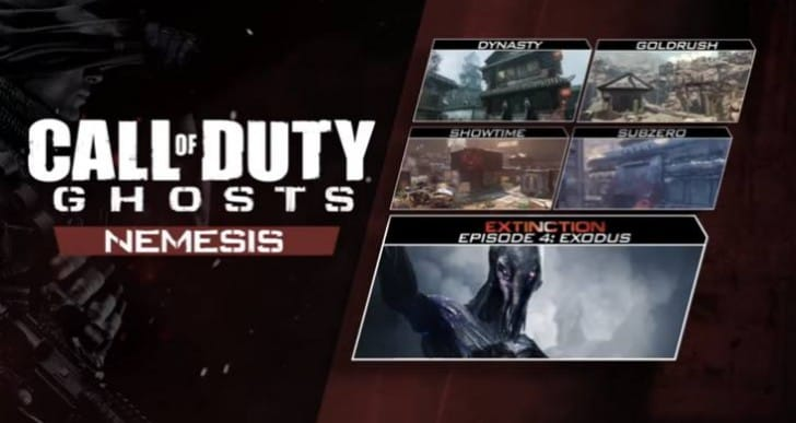COD Ghosts Nemesis DLC release date with trailer