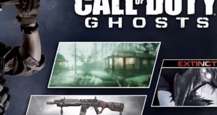 COD Ghosts Onslaught PS4, PS3 release time