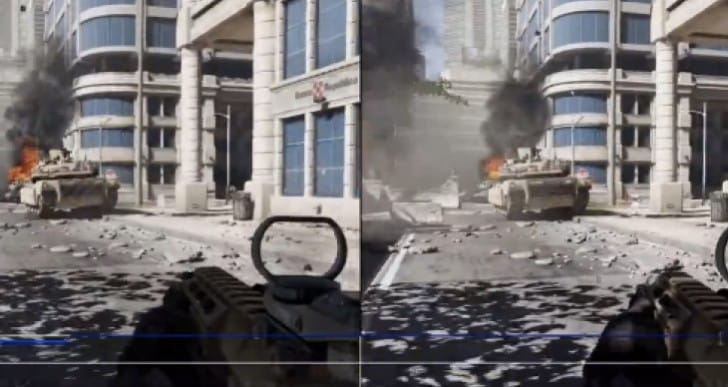 COD Ghosts PS4 1080p Vs 720p SP after patch