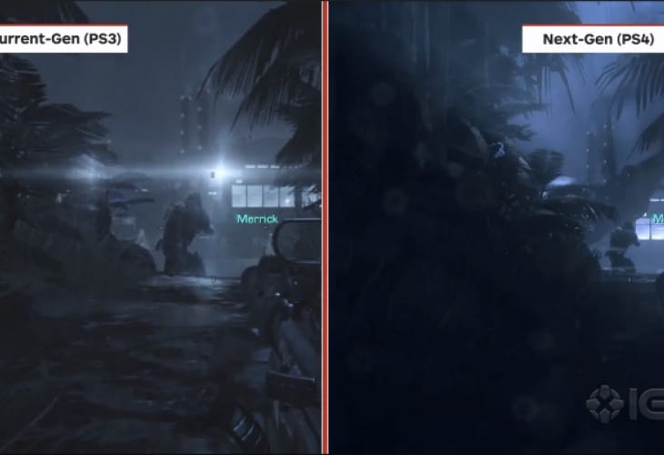 COD Ghosts PS4 Vs PS3, Xbox 360 shows painful differences