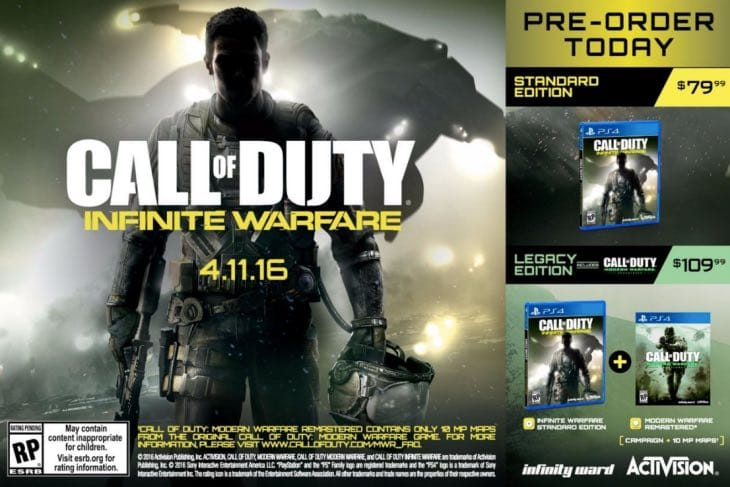 cod-infinite-warfare-leaked-posted-prices
