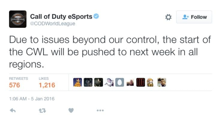 cod-world-league-schedule-delay
