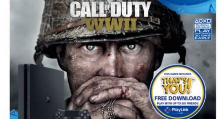 Amazing COD WW2 PS4 Slim, Xbox One S bundle at Sainsburys