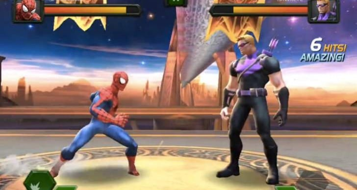 Marvel Contest of Champions early review