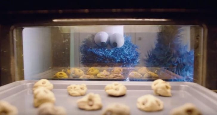 Apple's new Ad with Cookie Monster for aspiring chefs